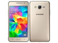 SAMSUNG GALAXY GRAND PRIME PHONE GOLD QUAD CORE 5MP CAMERA UNLOCKED SMART PHONE
