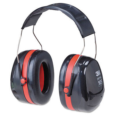 3M H10A Peltor Optime 105 Over-the-Head Earmuffs **Free US Shipping** Business & Industrial