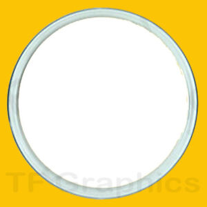 Large 100mm Circular Acrylic Custom Personalised Badge - Design Your Own