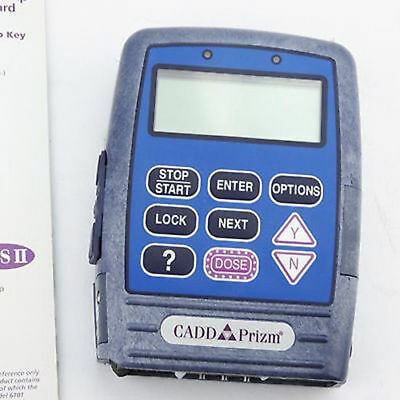 Cadd Prizm 6101 Vip Ambulatory Infusion Pump Iv Smiths Medical