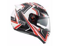 Barely Used Premium Motorcycle Helmet - Size Small - AGV Horizon Racer