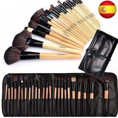 Brochas de Maquillaje,Cadrim 24pcs Maquillaje Profesional Pinceles Maquillaje