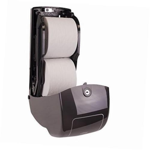 NEW! Tork elevation design toilet tissue dispenser plastic black 555628