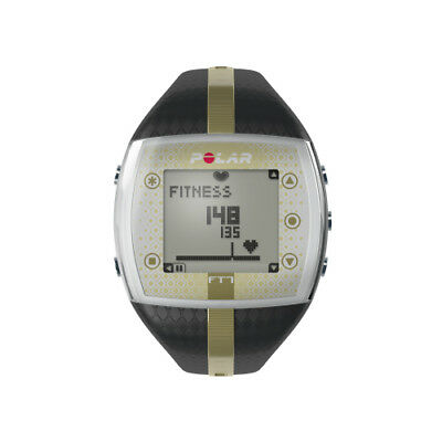 Polar FT7 Women's Heart Rate Monitor Watch - Black/Gold