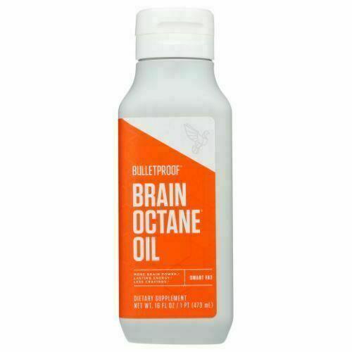 Bulletproof Brain Octane Keto Paleo Diet Friendly 16 Fl Oz  - $20.99
