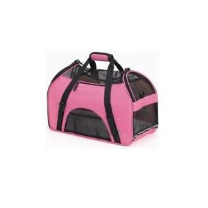 BERGAN-COMFORT-CARRIER-LARGE-PINK-PET-DOG-CAT-SOFT-TOTE
