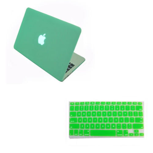 "Rubberized Hard Case Shell Keyboard Cover Macbook Pro 13/15"" Air 11/13""Touch Bar"