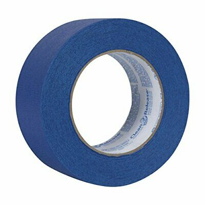 Blue Painters Masking Tape By Decker. Case Of 24 Rolls. 2 X 60 Yd Free Shipping