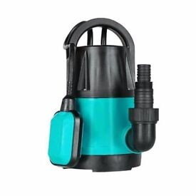 submersible pond pump , mains powered 450 w, powerful pump .used twice .