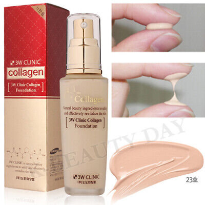 3W CLINIC Collagen Firming-up Foundation 50ml #23 Natural Beige / Perfect Cover