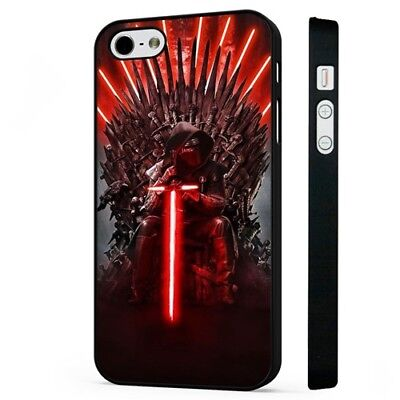 Star Wars Kylo Ren Thrones BLACK PHONE CASE COVER fits iPHONE