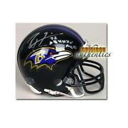 Ravens Signed Mini Helmet