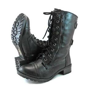 Womens Studded Motorcycle Boots
