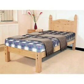 CORONA MEXICAN SINGLE LOW FOOT END BED