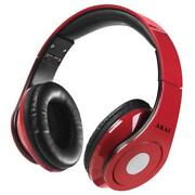 Red Over Ear Headphones