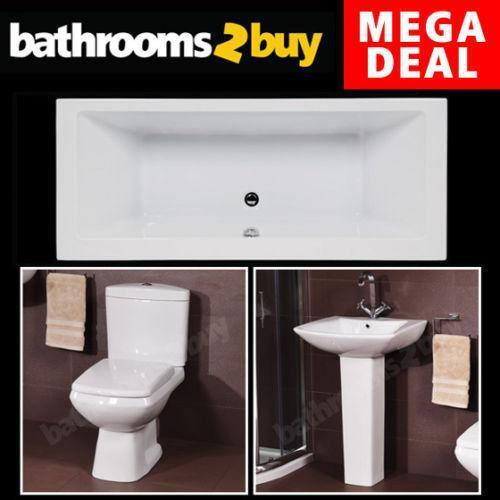 3 Piece Bathroom Suite Ebay