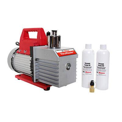 Robinair 15800 Vacumaster 8 Cfm Vacuum Pump1 Hp 18.6 Oz. 115v