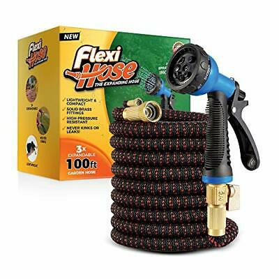 Lightweight Expandable Garden Hose Leak Resistant Easy to Use & Store New