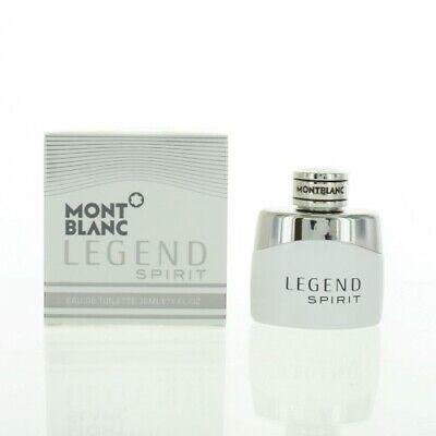 Mont Blanc Legend Spirit 1.0 Oz Eau De Toilette Spray by Mont Blanc NEW Box (Mont Blanc Legend Eau De Toilette Spray)