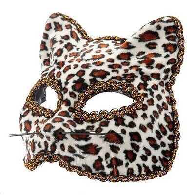 Leopard Halbschuhe Maskenball-Maske Katzenmaske Halloween Augenmaske für - Schuhe Für Halloween