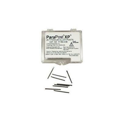 Coltene Whaledent P784-4 Parapost Xp Titanium Alloy Posts .040 Yellow 10pk