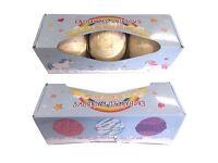 Set of 3 Enchanted Rainbows Bath Bombs in Gift Pack. 3 Assorted Fragrances per Pack.