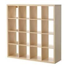 IKEA book shelves 4 x 4 Kallax series - As New Kirrawee Sutherland Area Preview