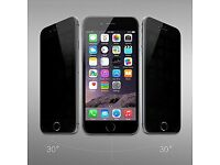 iPhone 6 / 6s / 6 Plus and 6s Plus - Privacy Tempered Glass Screen Protector Bulk Deal