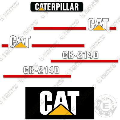 Caterpillar Cb214d Decal Kit Vibratory Smooth Drum Roller Cb 214 D Cb-214-d
