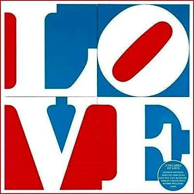 Love Greatest Hits The 1980's,90's,00's 3CD John Legend,George Michael,East 17 +