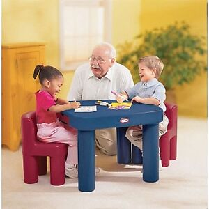 Little Tikes - table and chairs set
