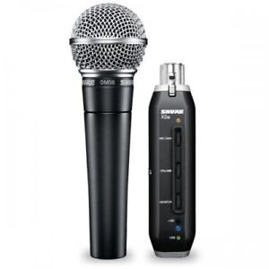 Shure SM58-X2U Dynamic Microphone with USB Signal Adapter
