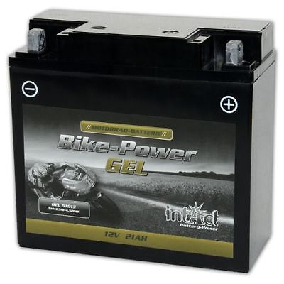 Intact Motorradbatterie Gel 51913 12V 21Ah BMW R850 R1100 R1150 GS K1200 mit ABS