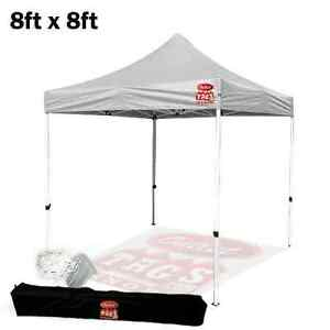 8FTX8FT POP UP TENT WHITE - $99.99