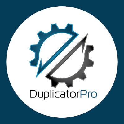 Duplicator Pro Wordpress Site Migration Backup Plugin Lifetime Update