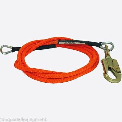 Arborist Flipline 12 X 8 Steel Core Locking Swivel Snap16-strand