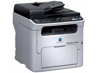 * High Spec, fully working MFP colour laser printer with ADF scanner & Fax - Complete with ink **