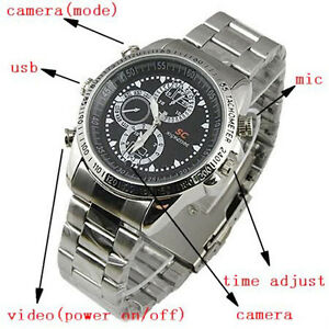 Waterproof Watch DVR Video Recorder-Pinhole Mini  Camera