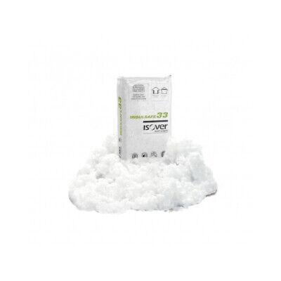 Isover Insulsafe33 - Lana di vetro in fiocchi per insufflaggi e isolamento