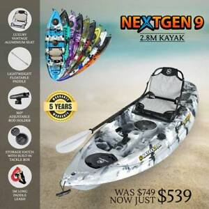 Wide Range of Single and Double Fishing Kayaks for Sale in Mornington