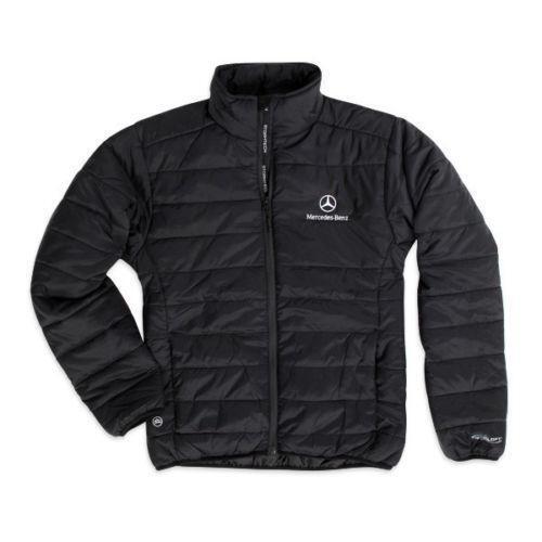 Mercedes Benz Leather Jacket: Mens Puffy Jacket