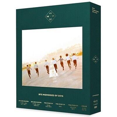 BTS [MEMORIES OF 2016] 4DVD+Store Gift+188p Photobook+7p Photocard K-POP Sealed