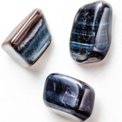 Blue Tigers Eye Stones TWO