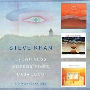 Khan Steve-Eyewitness/Modern Times/Casa L  CD NEU
