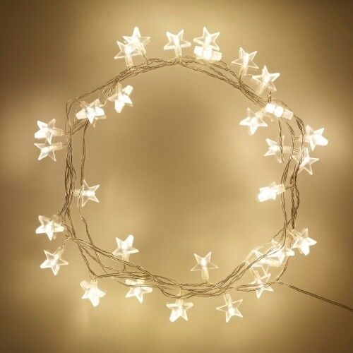 30 LED Star Lights With Transformer - Brand New - Kilmarnock Area