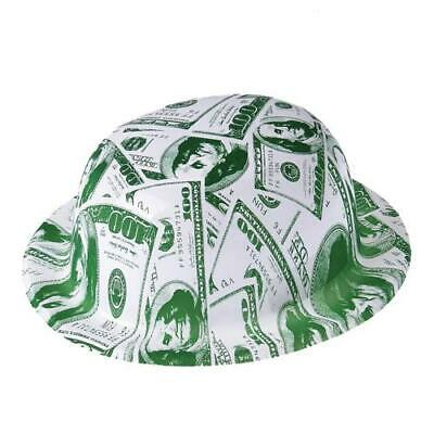 $100 Bill Derby Party  Hats (1 dozen)