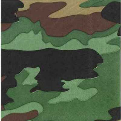 Camouflage Table Decorations (Camouflage Napkins Table Decoration Party Supplies Special Events 25)