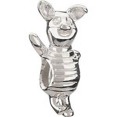 Disney Piglet Jewelry - Chamilia Disney PIGLET Winnie The Pooh Sterling Silver Charm Bead DIS-4 RETIRED!
