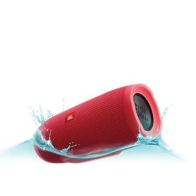 New JBL Charge 3 portable Waterproof Bluetooth speaker (RED)