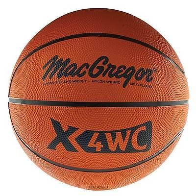 Macgregor  X4wc Junior Size  27 5   Rubber Basketball